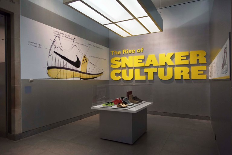 The Rise of Sneaker Culture at The Brooklyn Museum © Jonathan Dorado
