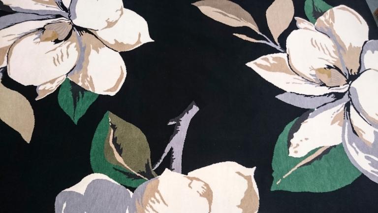 """Vivienne Westwood, Teppich/Carpet """"Magnolia Black"""" 6000 Euro"""