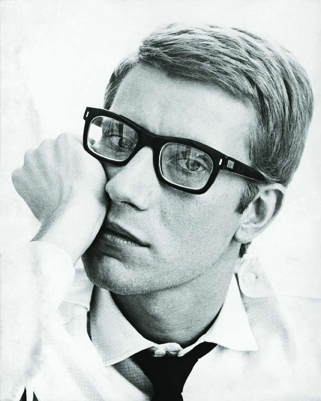 Portrait of Yves Saint Laurent in 1964_©Fondation Pierre Bergé – Yves Saint Laurent Maurice Hogenboom