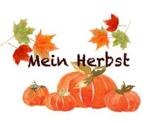 Blog series my fall. See the participating German bloggers below.
