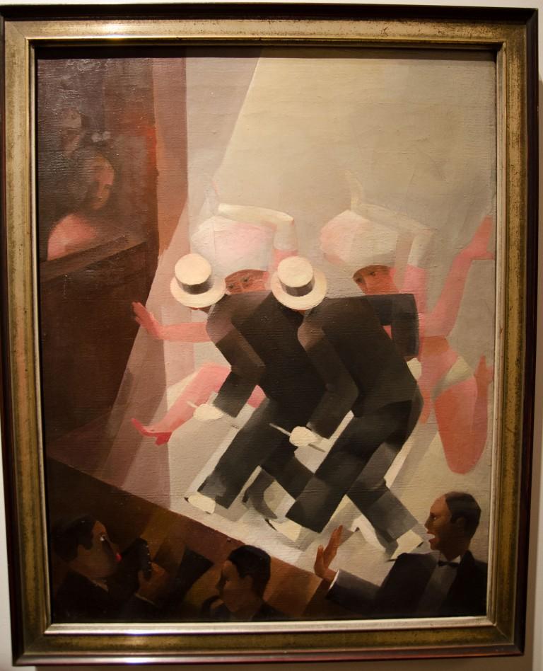 Paul Grunwaldt (1891-1962) Varieté, 1925 Öl auf Leinwand