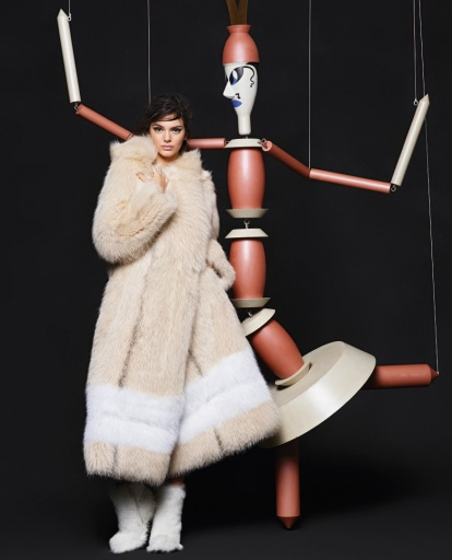 Photo: Karl Lagerfeld for Fendi