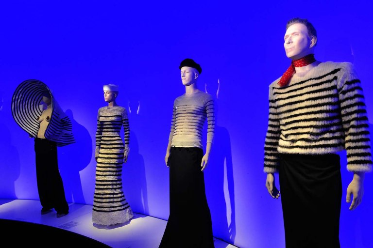 "Hypo-Kunsthalle, Ausstellung Jean-Paul Gaultier ""From the sidewalk to the catwalk"" Foto: Marcus Schlaf, 17.09.2015"