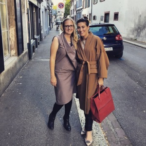 Lea and me in Basel.