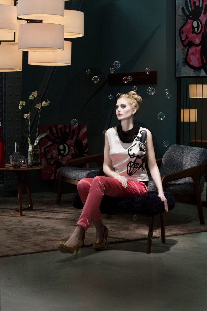 Fashion by Ludwig & Schwarz inspired by street artist The Pony | Photo: stefanlemanski.com