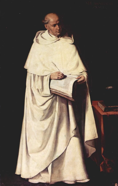 Porträt des Fra Francisco Zumel aus dem Mercedarier-Kloster Sevilla, 1633