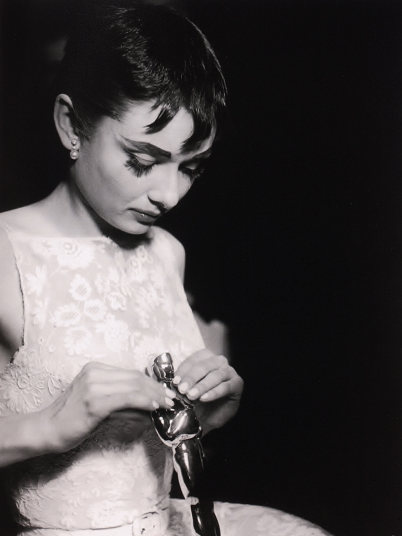 "Audrey Hepburn, Oscar® 1954 for ""Princess Ann"" in ROMAN HOLIDAY (USA 1953, William Wyler) Photo: Audrey Hepburn, 1954 Source: Museo Nazionale del Cinema, Turin"