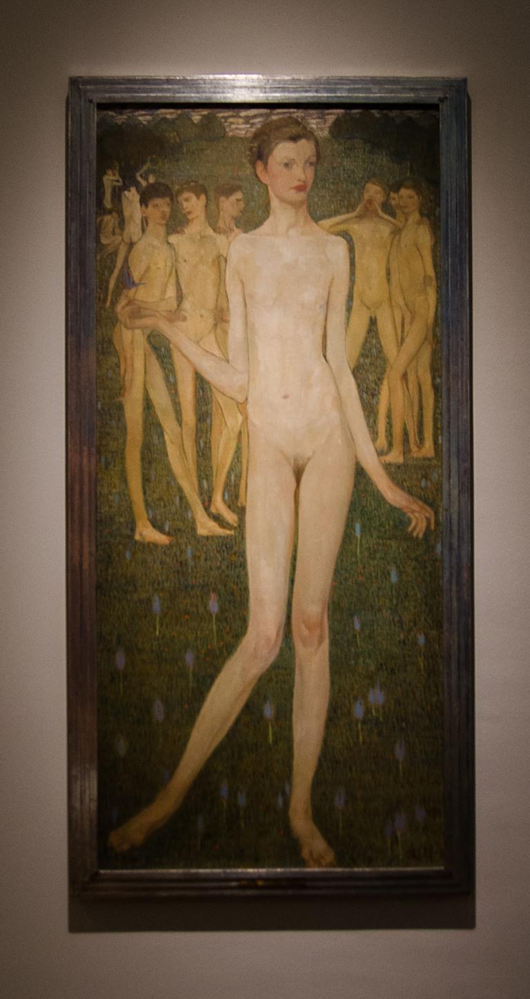 Elena Luksch-Makowsky, Adolescentia, 1903, Österrieche Galerie Belvedere, Wien