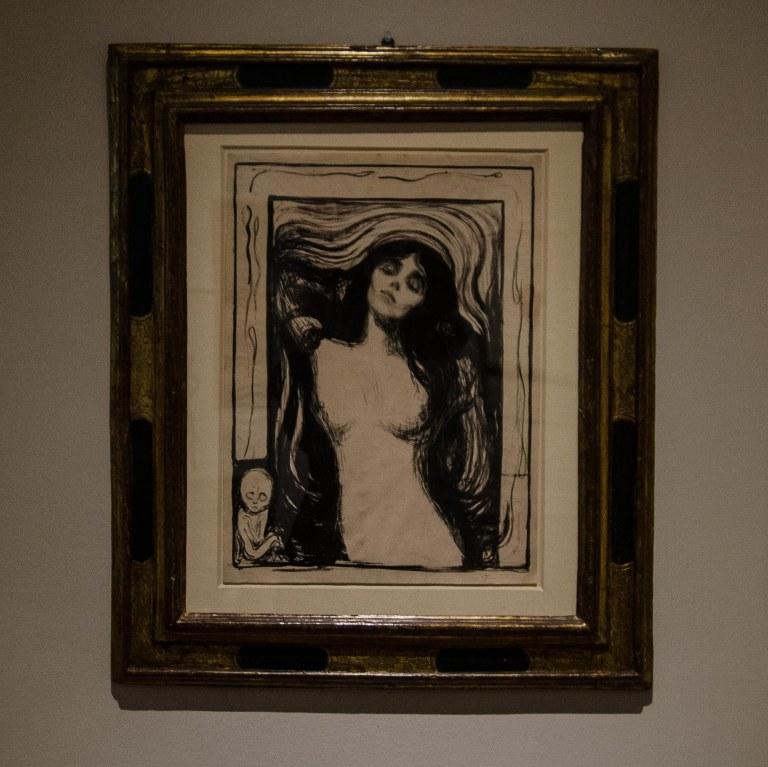 Evard Munch, Madonna, 1895, Hamburger Kunstsammlung