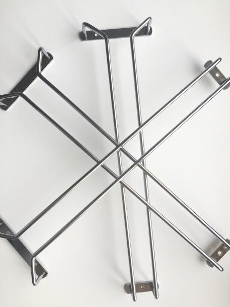 glass rack holders