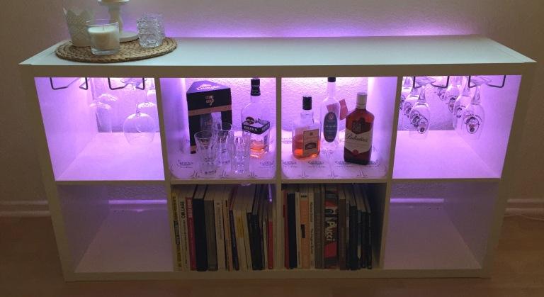 Ikea Hack How To Turn Kallax Into A Bar Museumlifestyle