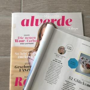 Michelle van der Veen im dm Magazin Alverde