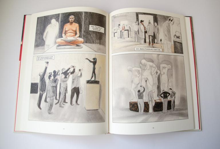 David Prudhomme Einmal durch den Louvre