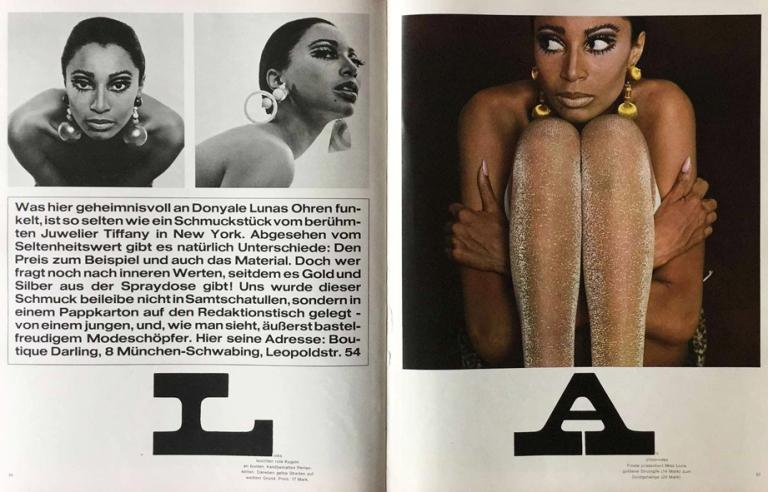 Charlotte March, twen magazine, 1966. art director: Willy Fleckhaus