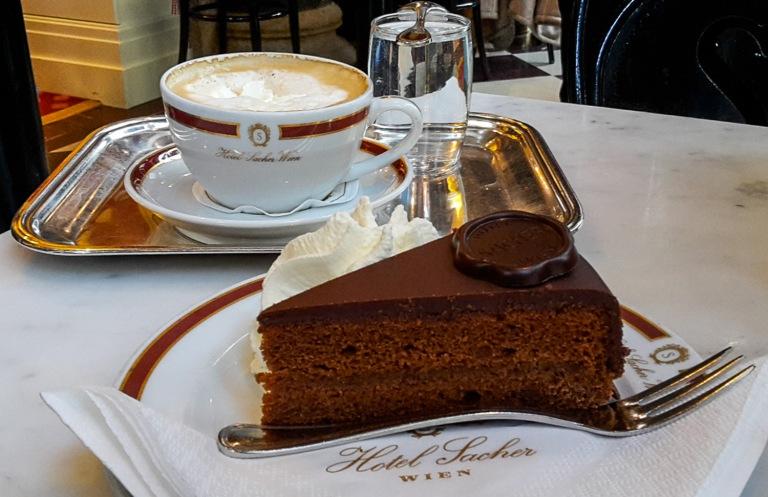 Café Sacher Wien. Foto: Julia Buchheister