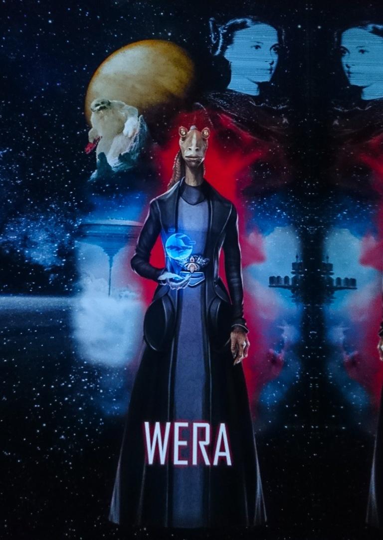 Star Wars Identities - THE EXHIBITION Erstelle deinen eigenen Star Wars Charakter. Dies ist mein Ergebnis!