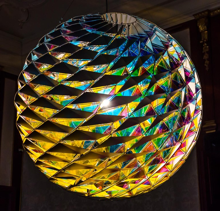 "New Berlin Sphere, 2009 ""Olafur Eliasson: BAROQUE BAROQUE"" at Belvedere Museum, Winter Palace of Prince Eugene of Savoy, Vienna"