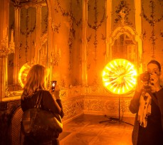 "Eye see you, 2006 ""Olafur Eliasson: BAROQUE BAROQUE"" at Belvedere Museum, Winter Palace of Prince Eugene of Savoy, Vienna"