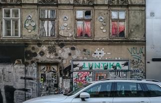 Streetart in Wien: Invader