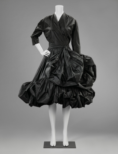 Cocktail dress, Cristóbal Balenciaga (1951-1952) | (c) Rijksmuseum