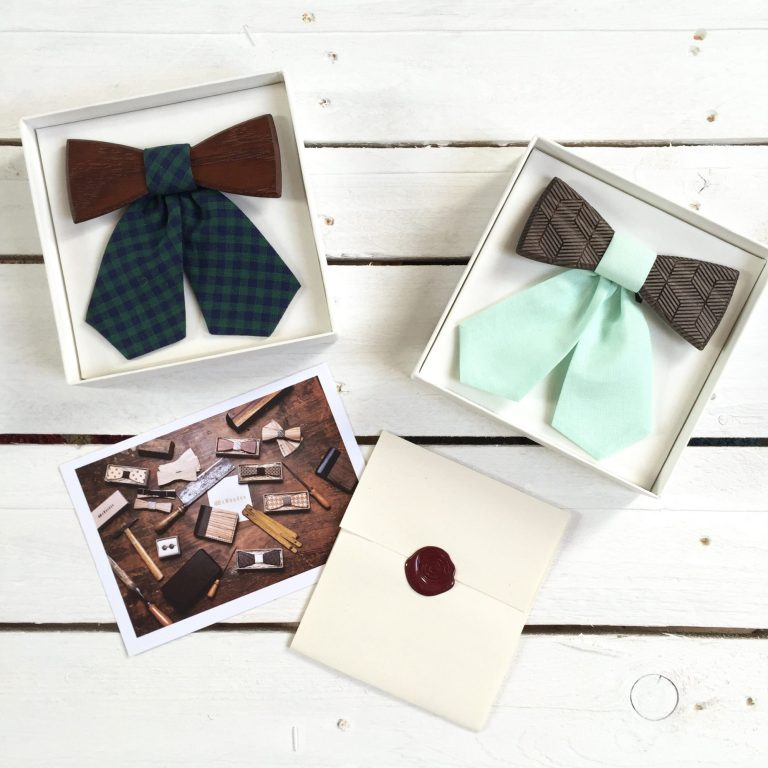 BeWooden bow ties