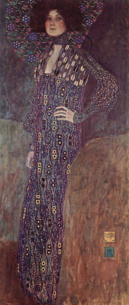 Emilie Flöge (Painting by Gustav Klimt, 1902), Wien Museum