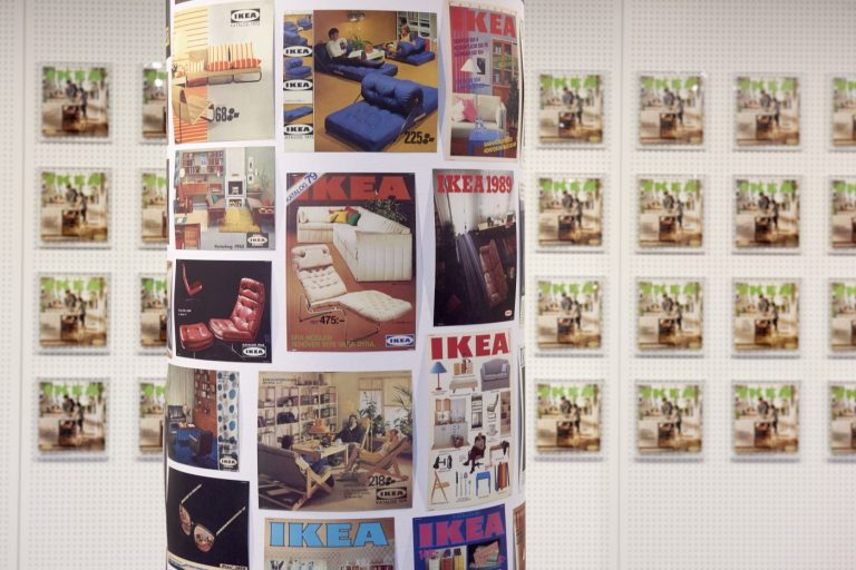 IKEA Catalogue covers through the ages © Inter IKEA Systems B.V. 2016