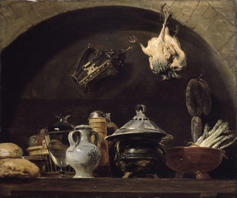 Frans Snyders vor 1579 - 1657, Küchenstillleben, Inv. 1922, Kunsthalle Karlsruhe
