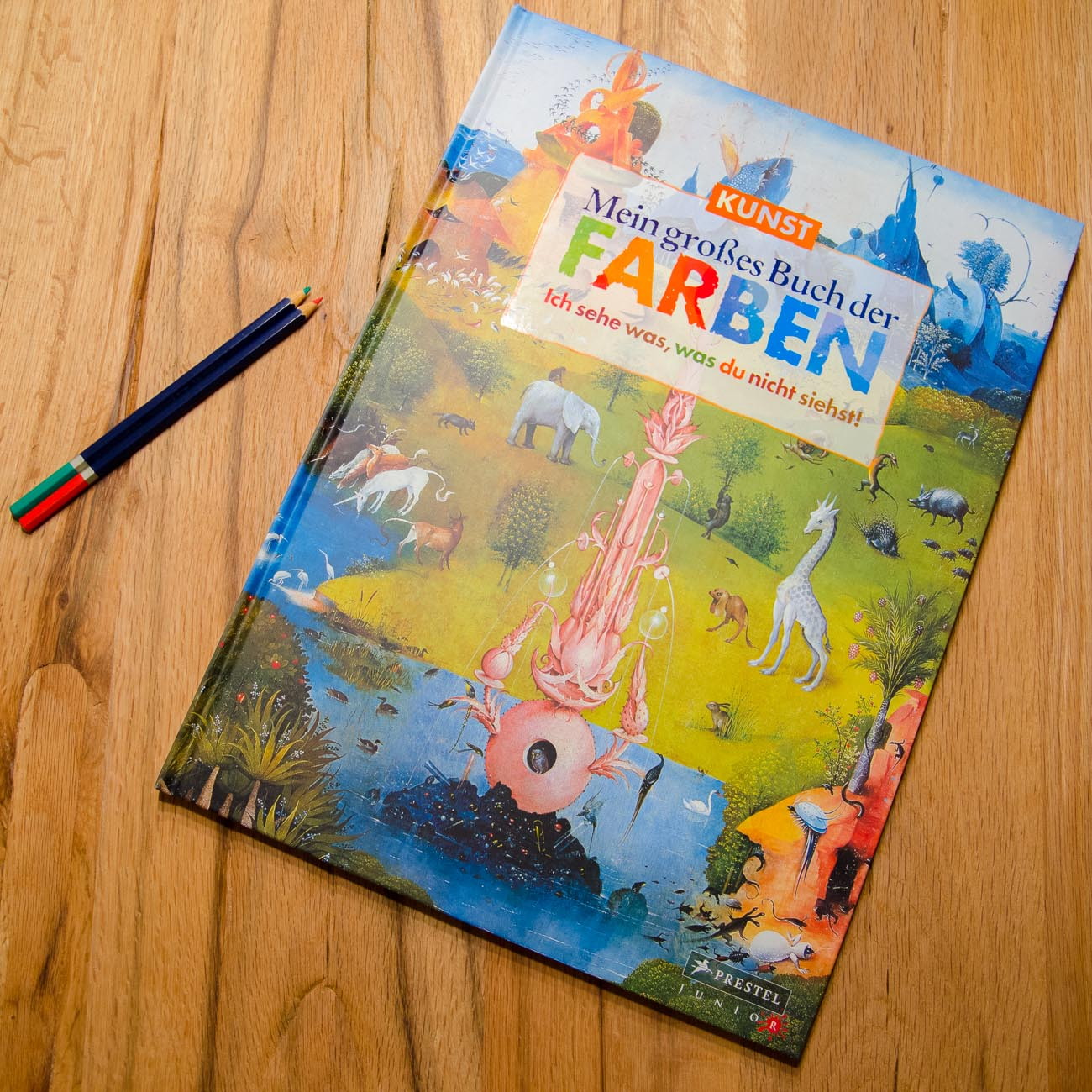 (ART)BOOKS WE LOVE | Mein großes Buch der Farben ...
