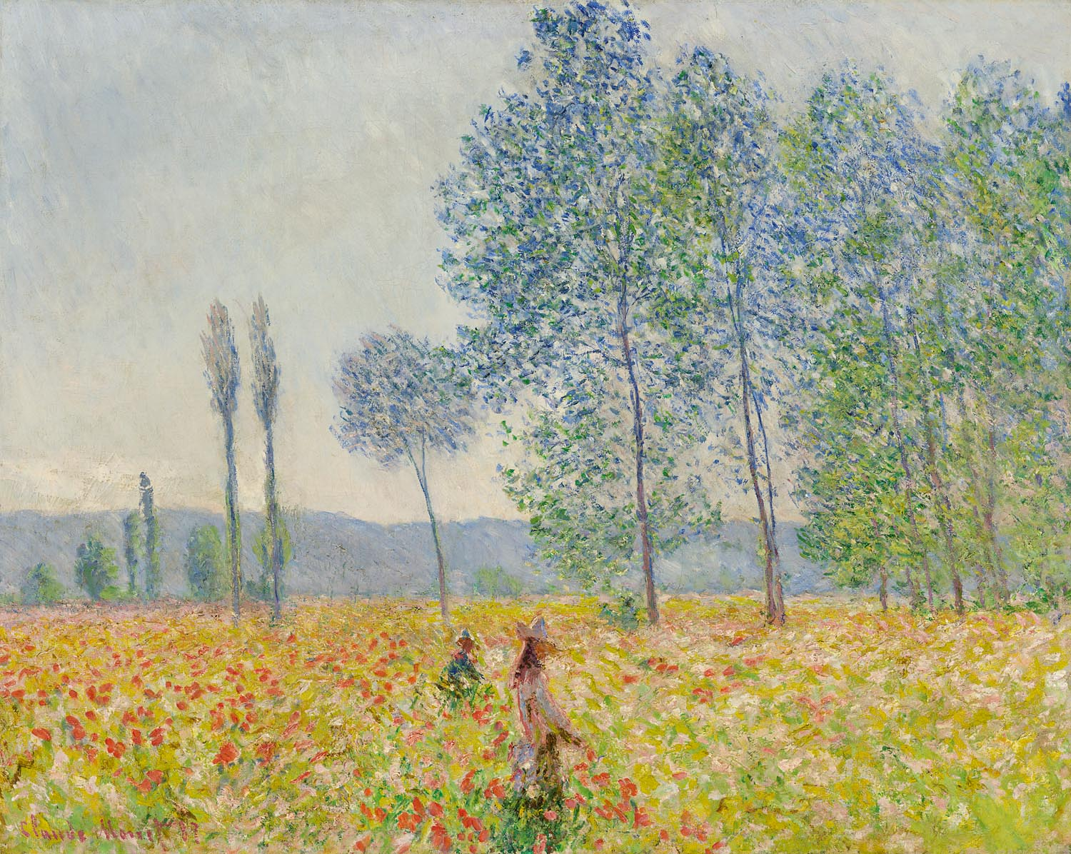 Claude Monet: Under the Poplars, 1887, private collection, Scan: RECOM ART