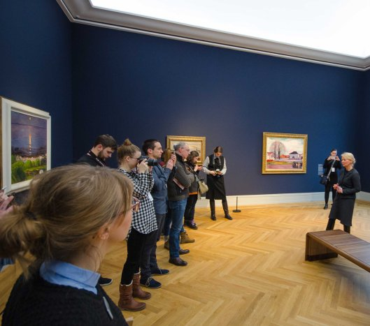 Blogger unterwegs im Museum Barberini