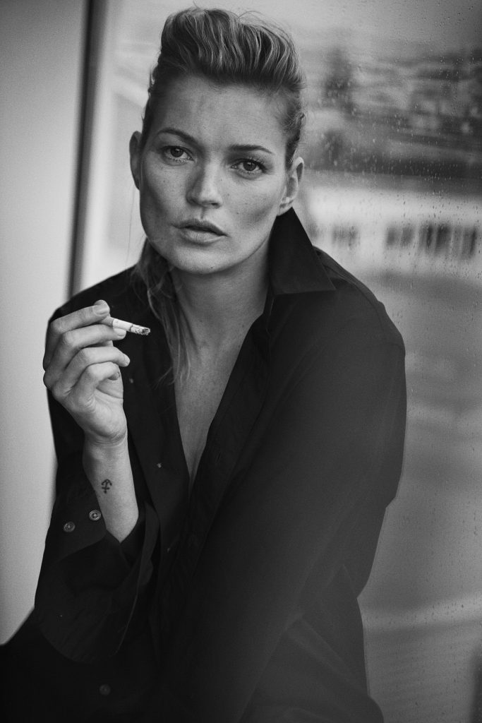 Kate Moss, Paris, 2014