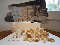 Ausstellungsansicht, Raum Küche