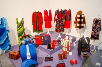 Die italienische Mode zeichnet sich durch ihre Farben aus.