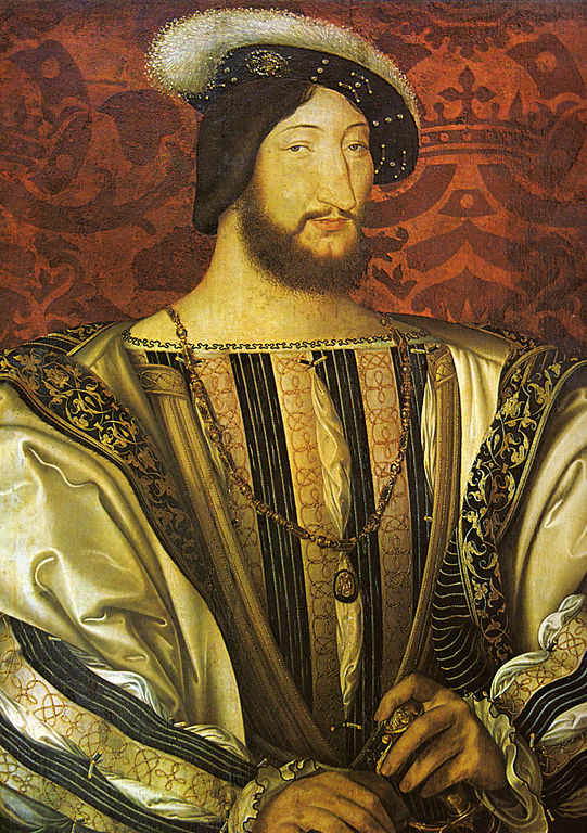 Franz I. von Frankreich (Jean Clouet zugeschrieben, um 1525, Paris, Louvre)