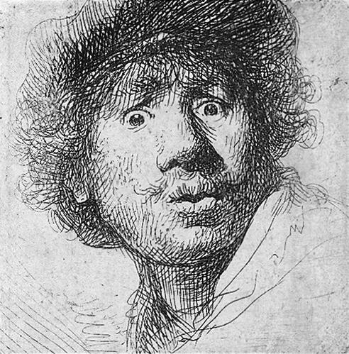 Selbstporträt, um 1630, Rijksmuseum Amsterdam